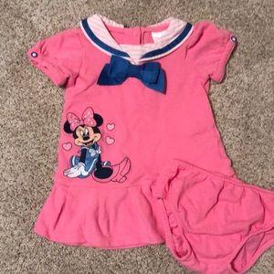 Nautical Minnie Mouse dress
